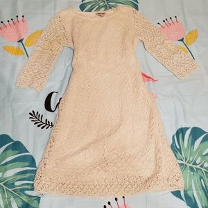 Cherokee Kids White Lace Dress